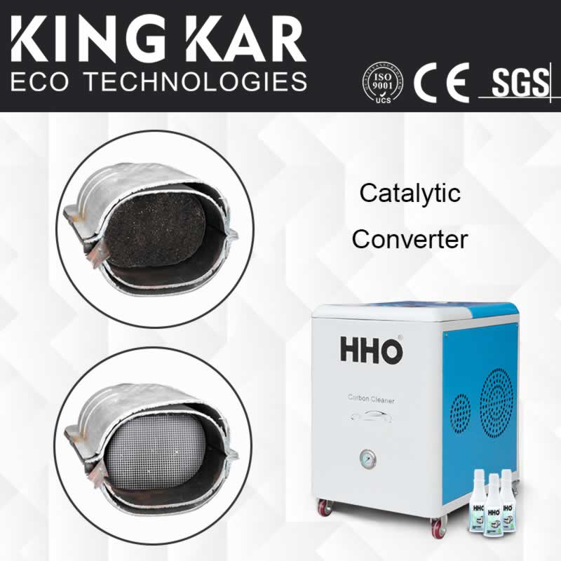 Carbon Steel Ingot Agent Mexico: HHO Carbon Cleaning Machine For Catalytic Converter